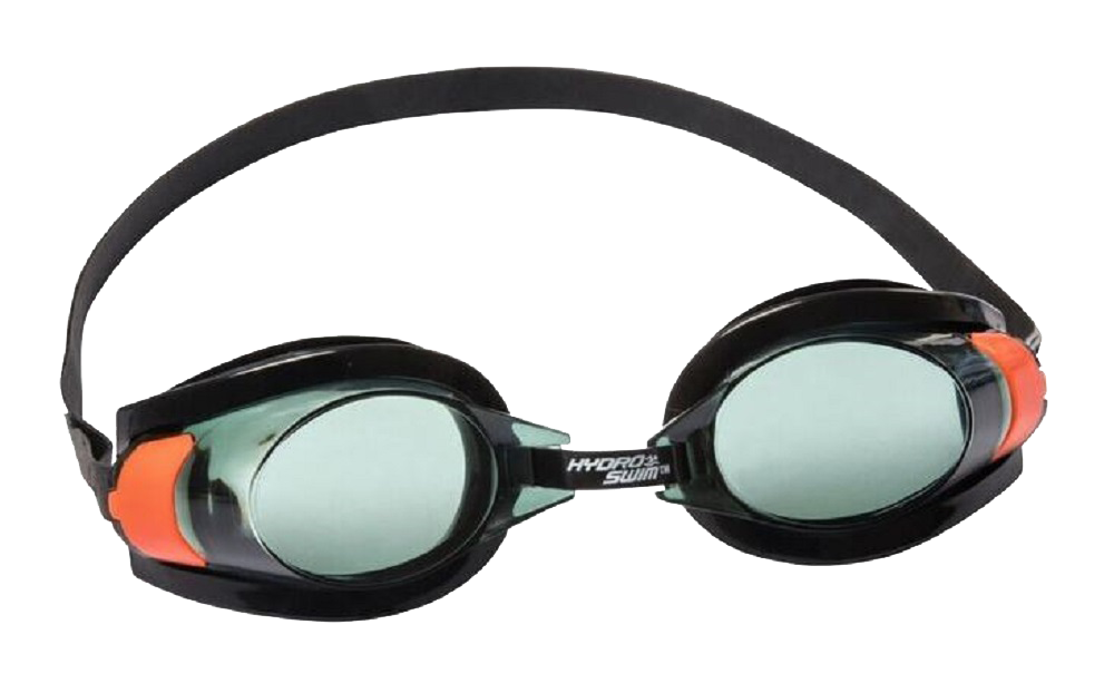 Goggles transparent swimming. Swim and snorkel hydro