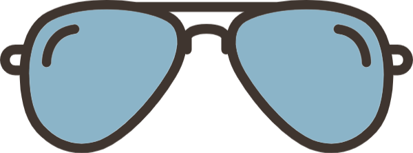 Goggles vector. Free online glasses accessories
