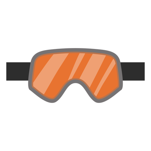 Goggles vector snowboard. Icon transparent png svg