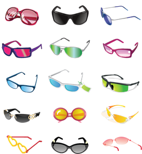 Goggles vector cool sunglasses. Logo eps free download