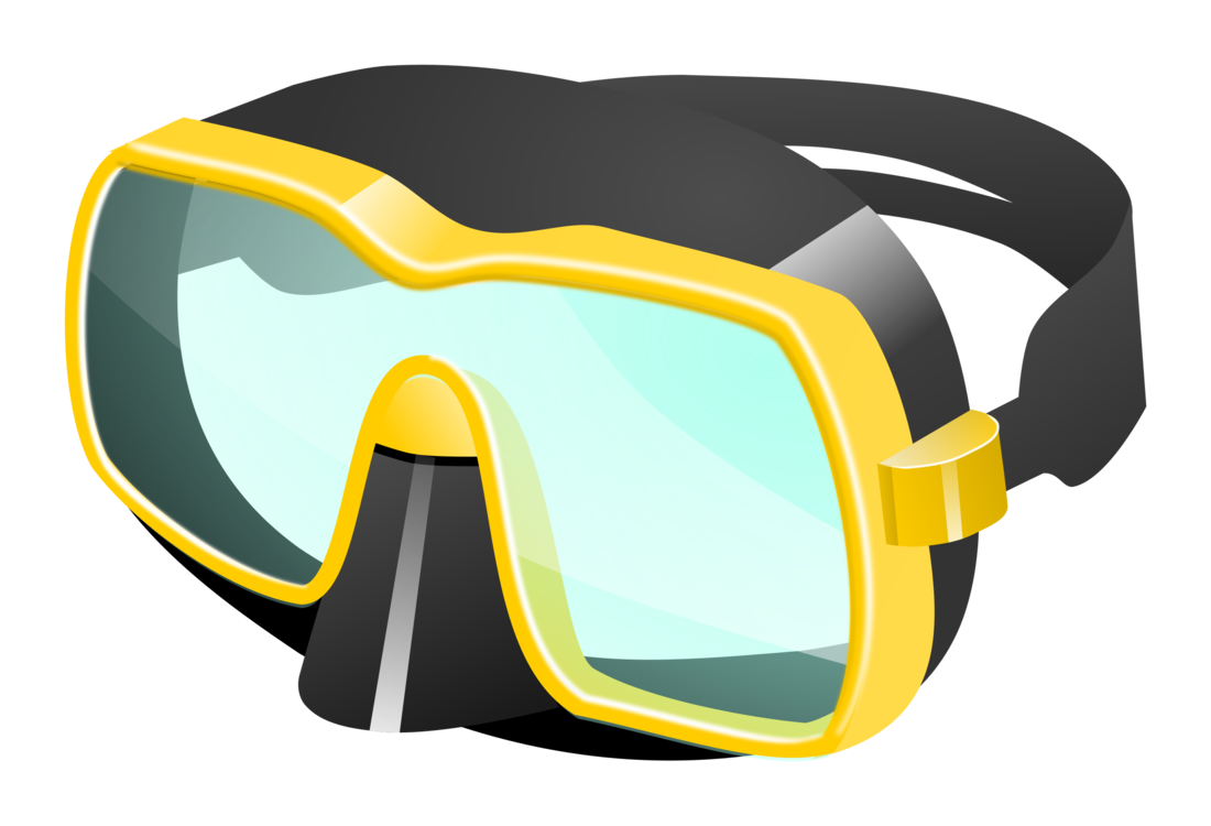 goggles vector diving