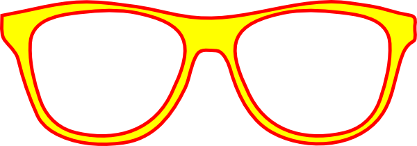 Goggles vector eyewear. Round glasses clipart free