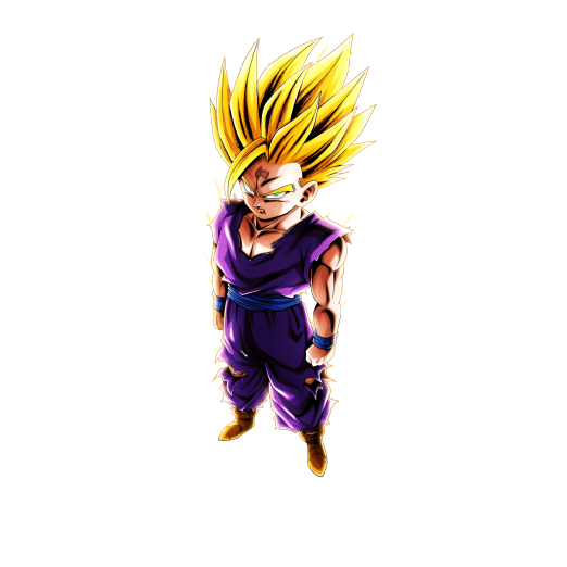 Super saiyan effect png. Sp youth gohan purple