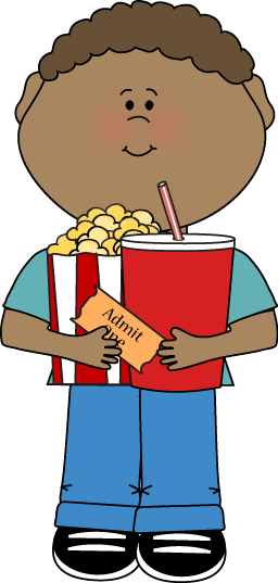 Movies clipart kid. Movie clip art images