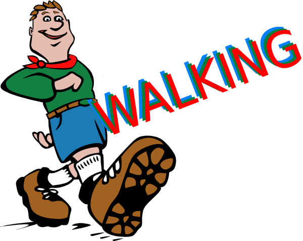 Trail clipart path windy. Free walking images download