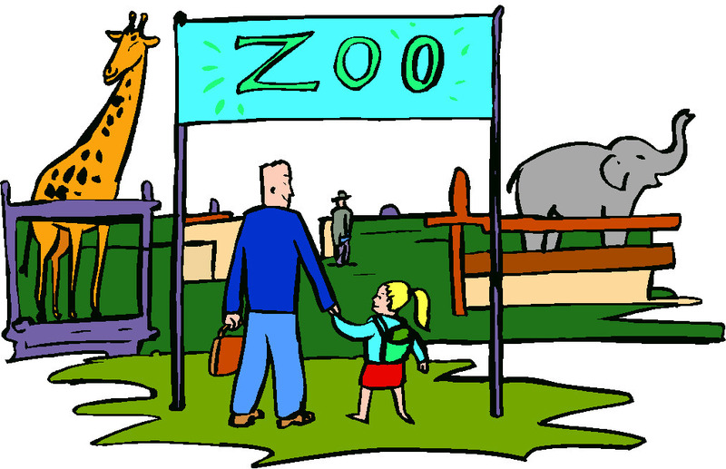 Going to clipart. The zoo