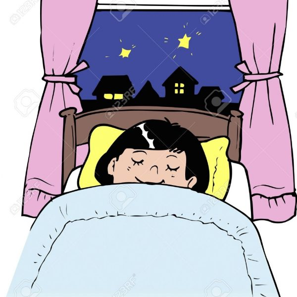 Going to clipart bed