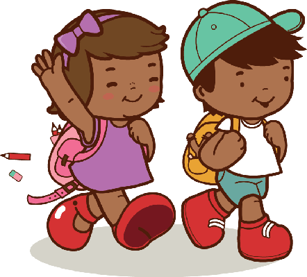School kids at getdrawings. Walk clipart graphic freeuse