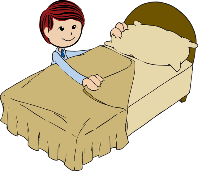 Clean clipart clean bedroom. Free long bed cliparts