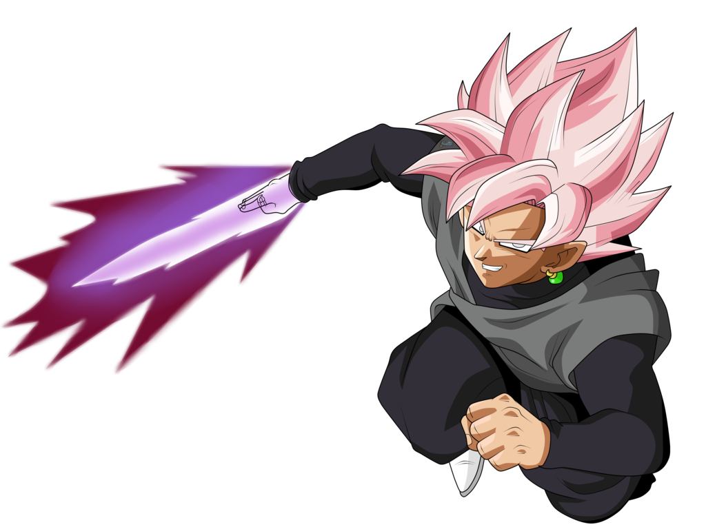 Goku black png. Image super saiyan rose