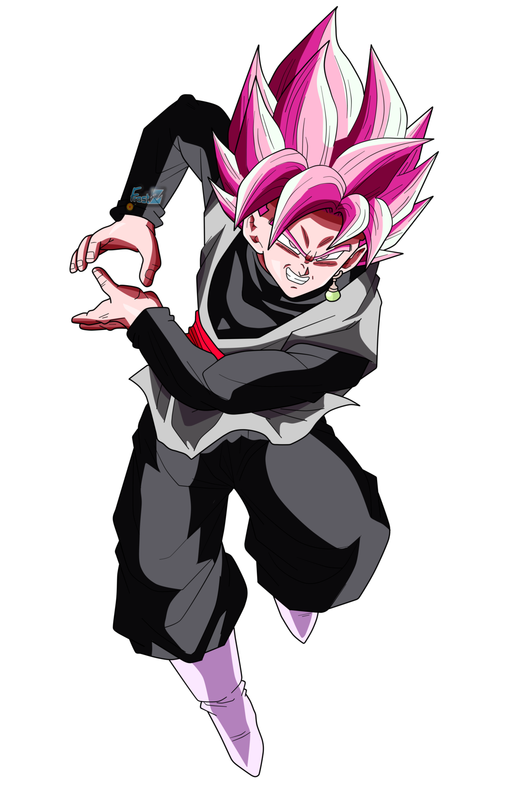 Goku black rose png. Dragon ball z pinterest