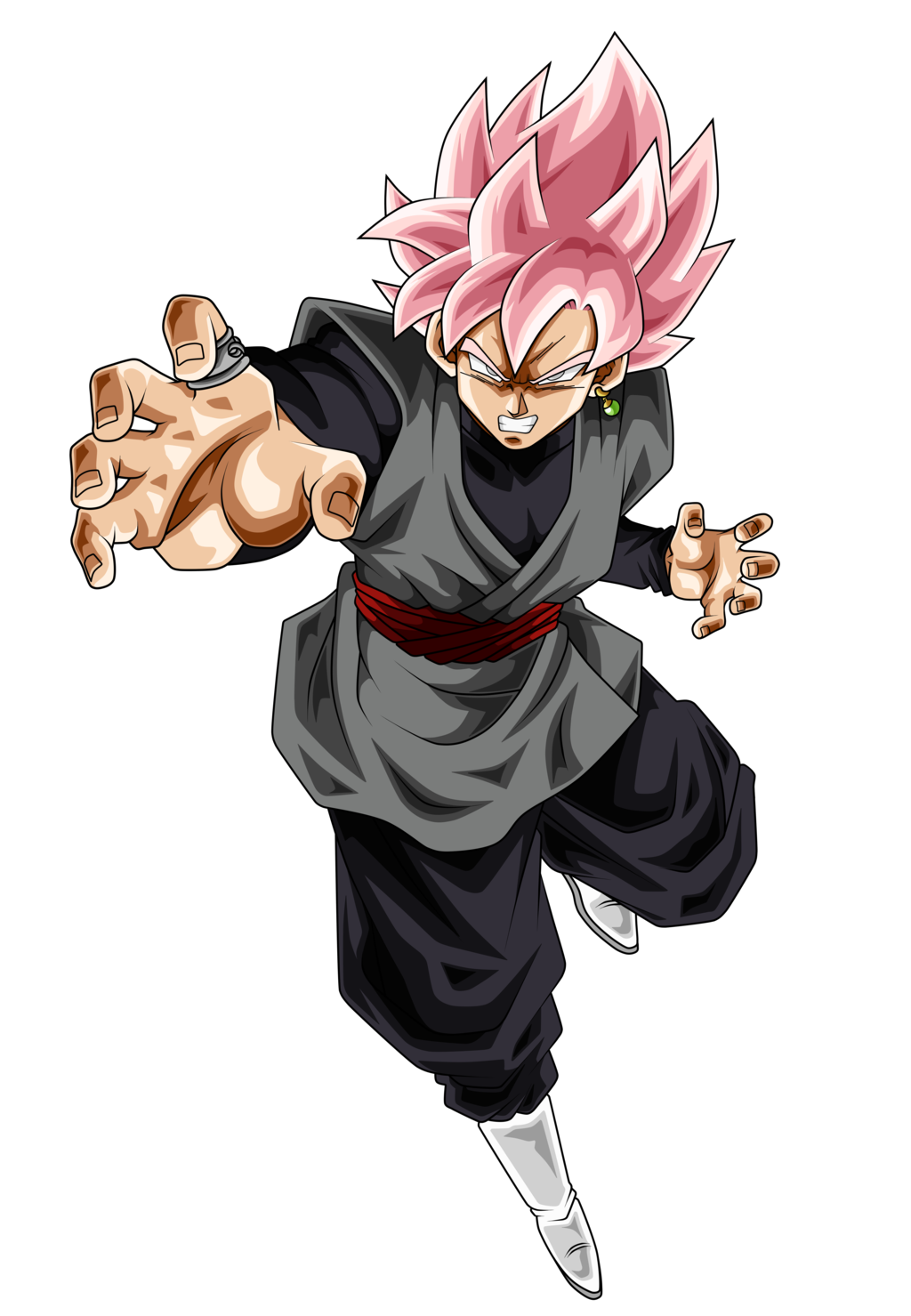 Goku black rose png. Canon dragon ball super