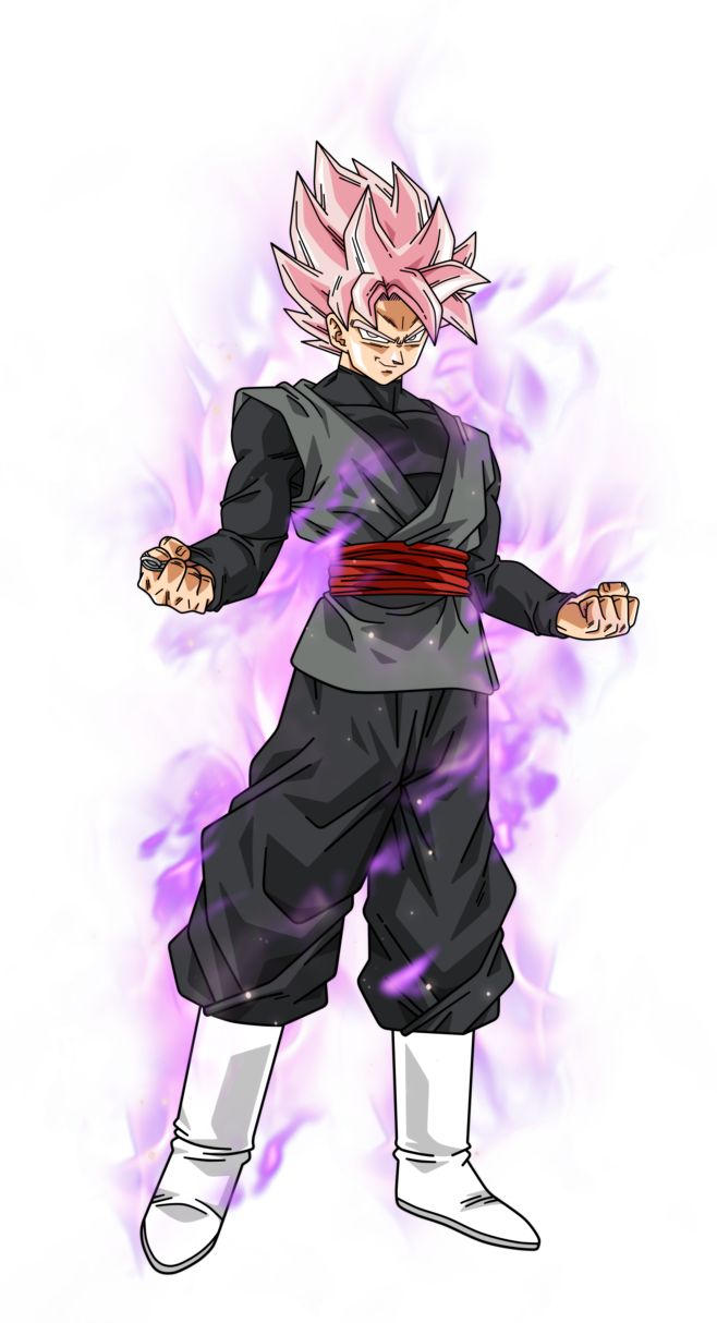 Goku black rose png. Super saiyan by bardocksonic