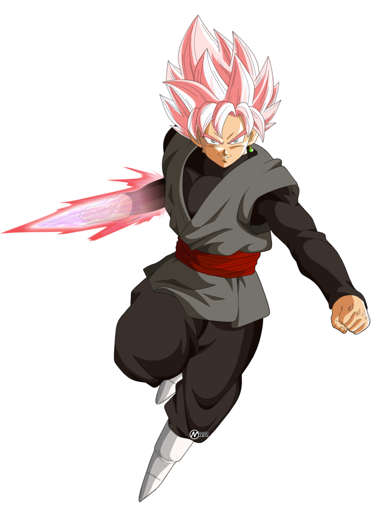 Goku black rose png. Ssj by naironkr on