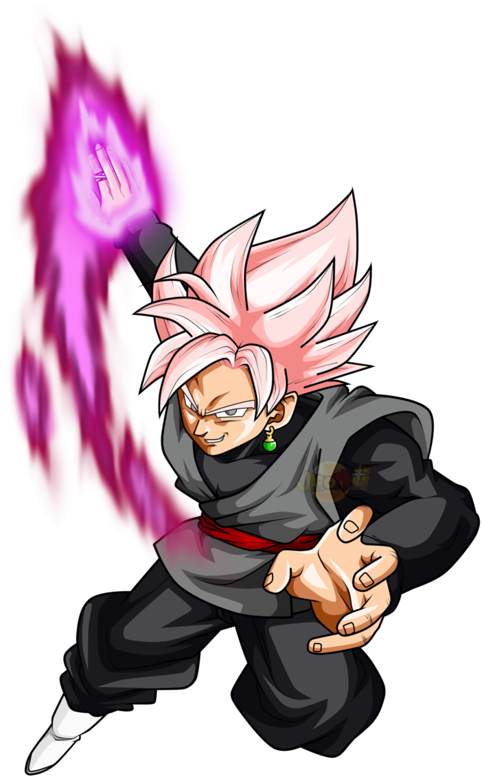 Goku black rose png. Ssj ataque by jaredsongohan