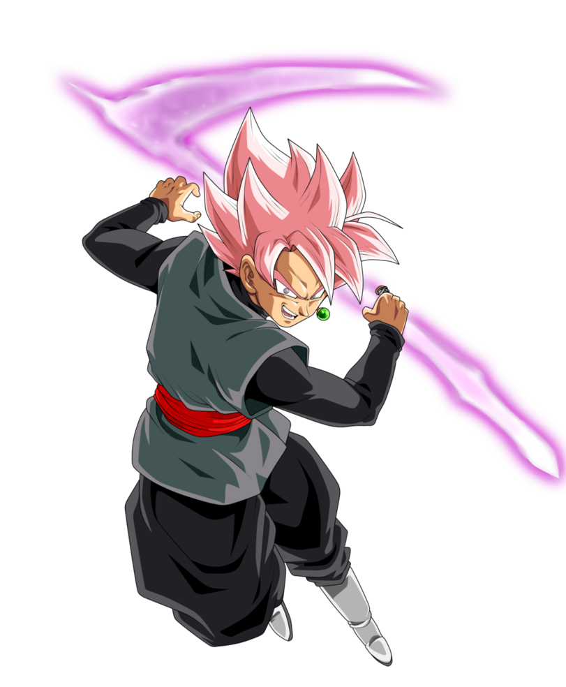 Goku black rose png. Super saiyan by chronofz