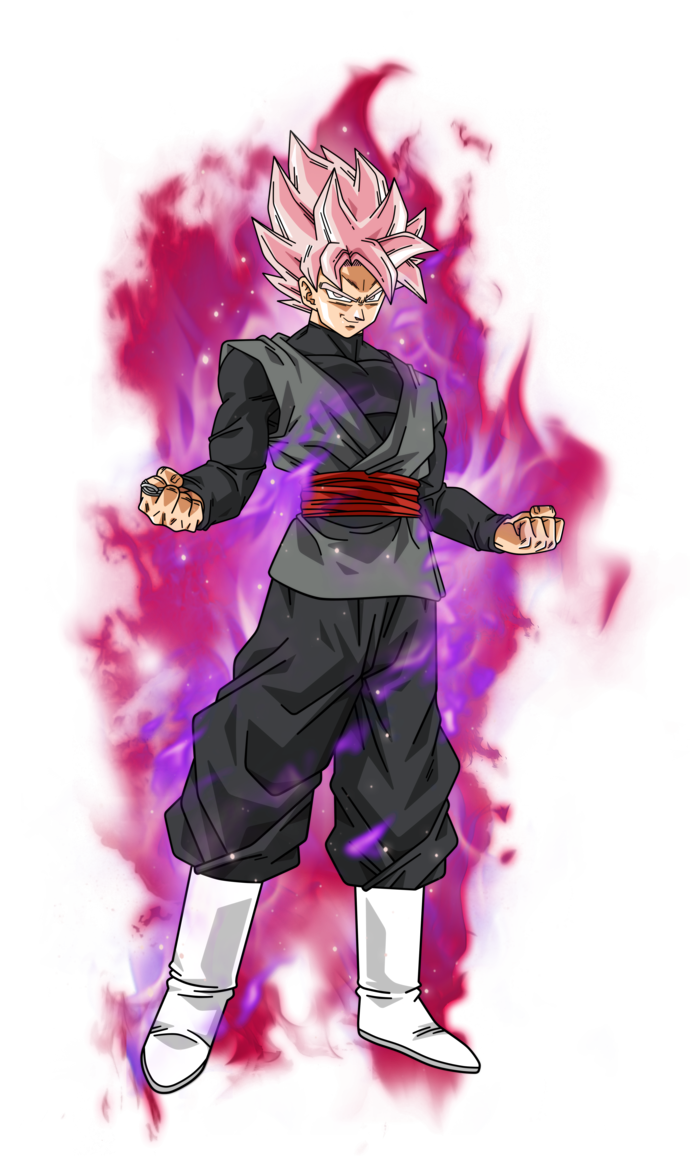 Goku black rose png. Image super saiyan v