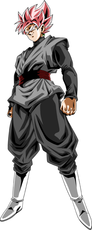 Goku black rose png. Image ssj v by