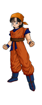 Goku clothes png. Pan in with tail
