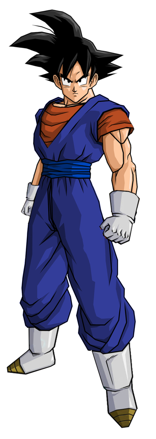 Goku clothes png. Image in vegetto by