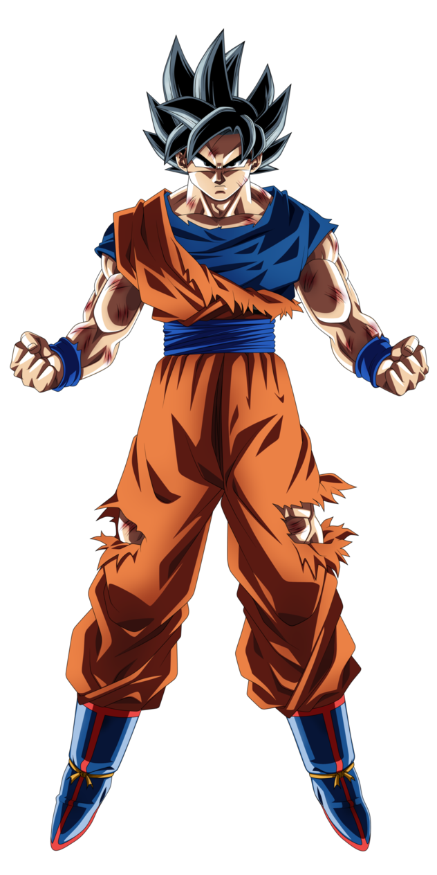 Goku clothes png. Son new form by