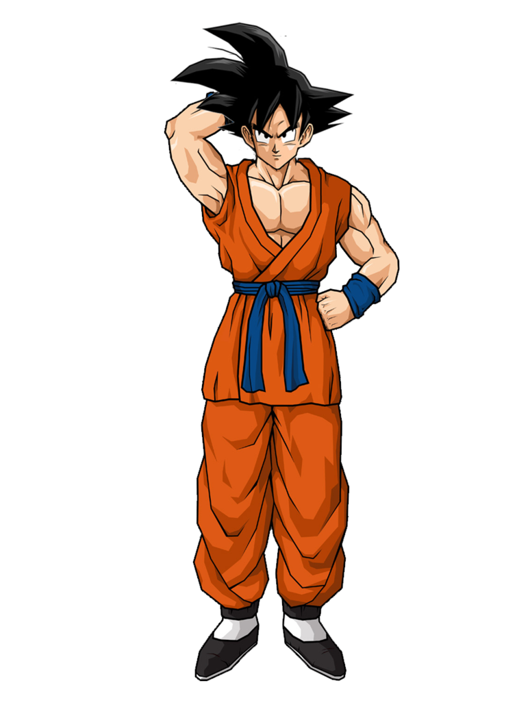 Goku clothes png. New outfit by gokugarlic