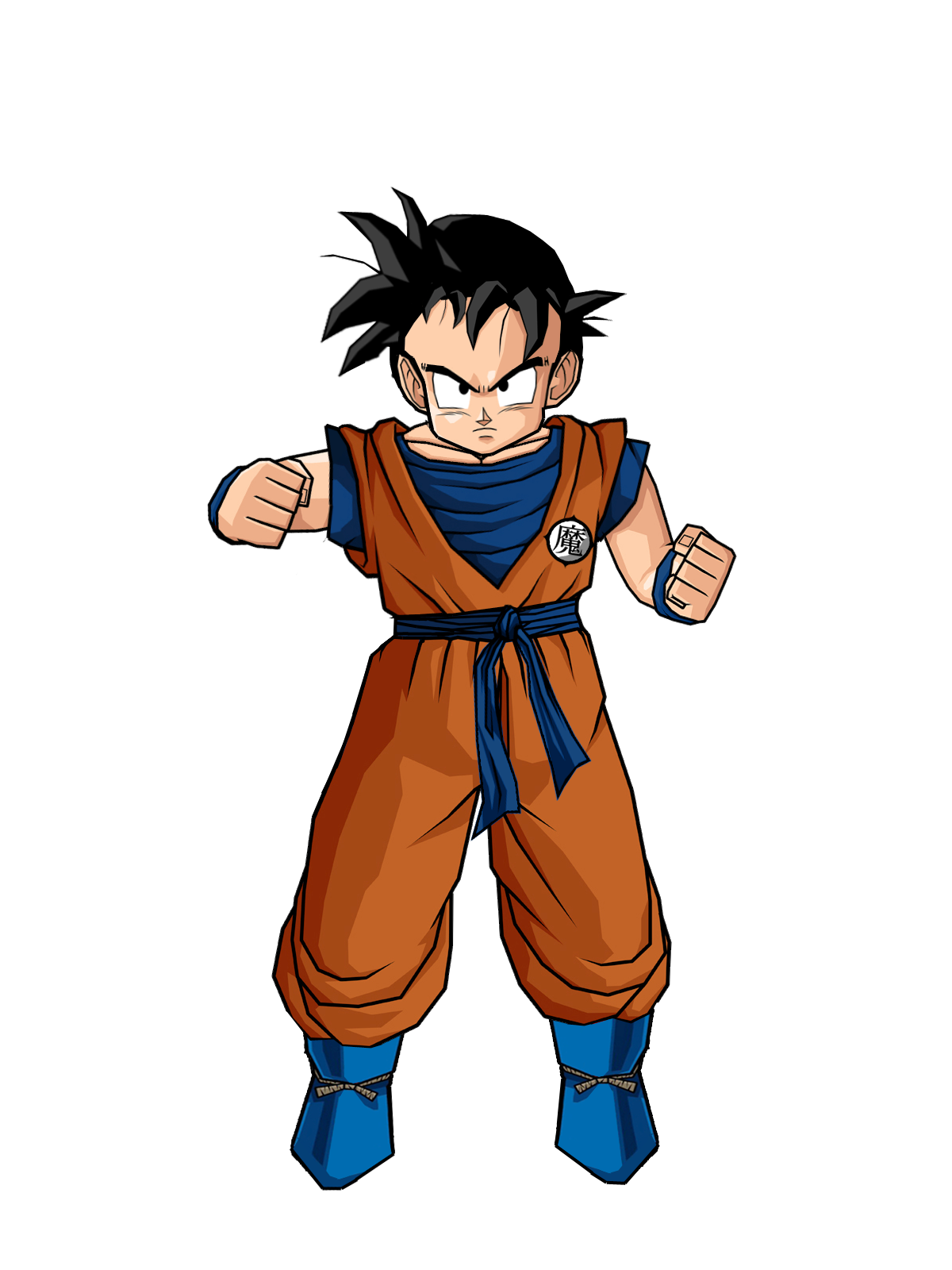 Goku clothes png. Image kidgohannewlook the lookout