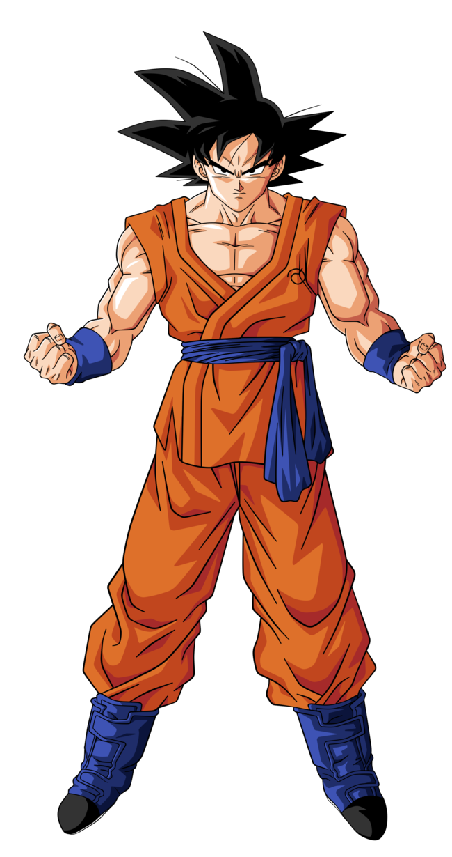 Goku clothes png. How does take a