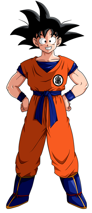 Goku clothes png. How to choose a