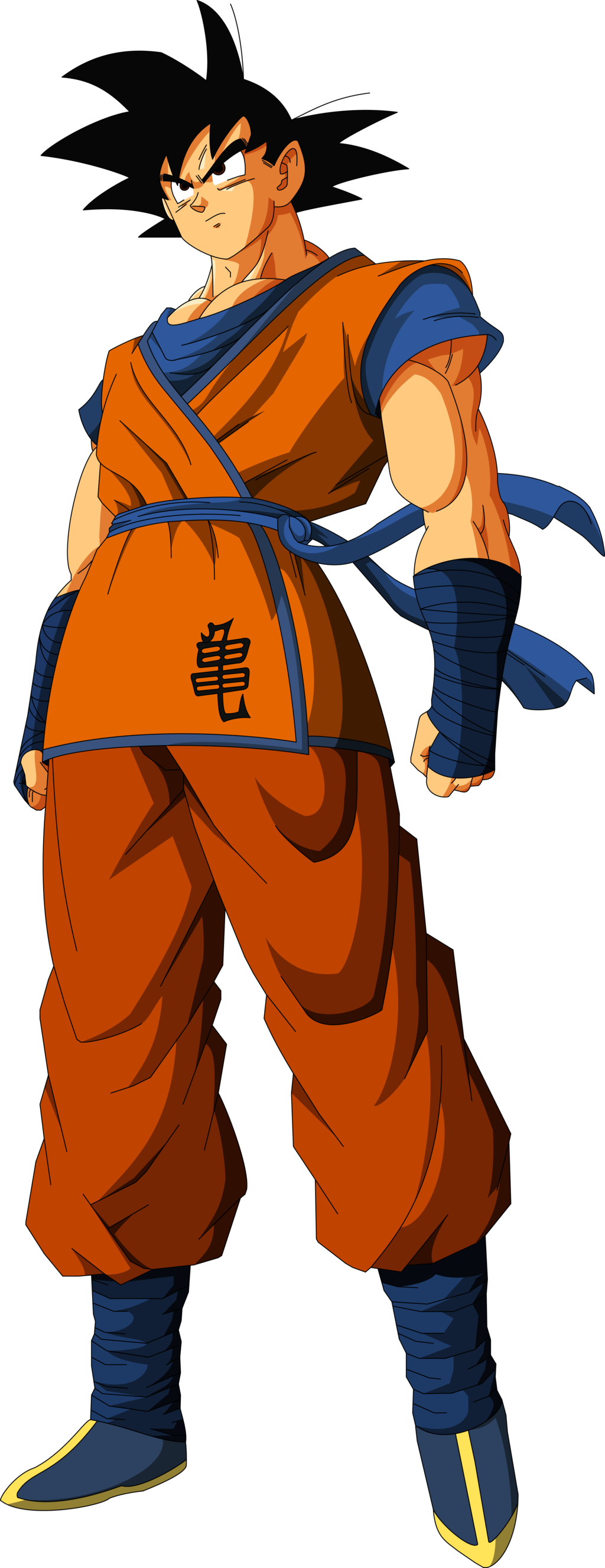 Goku clothes png. Rocking his new outfit