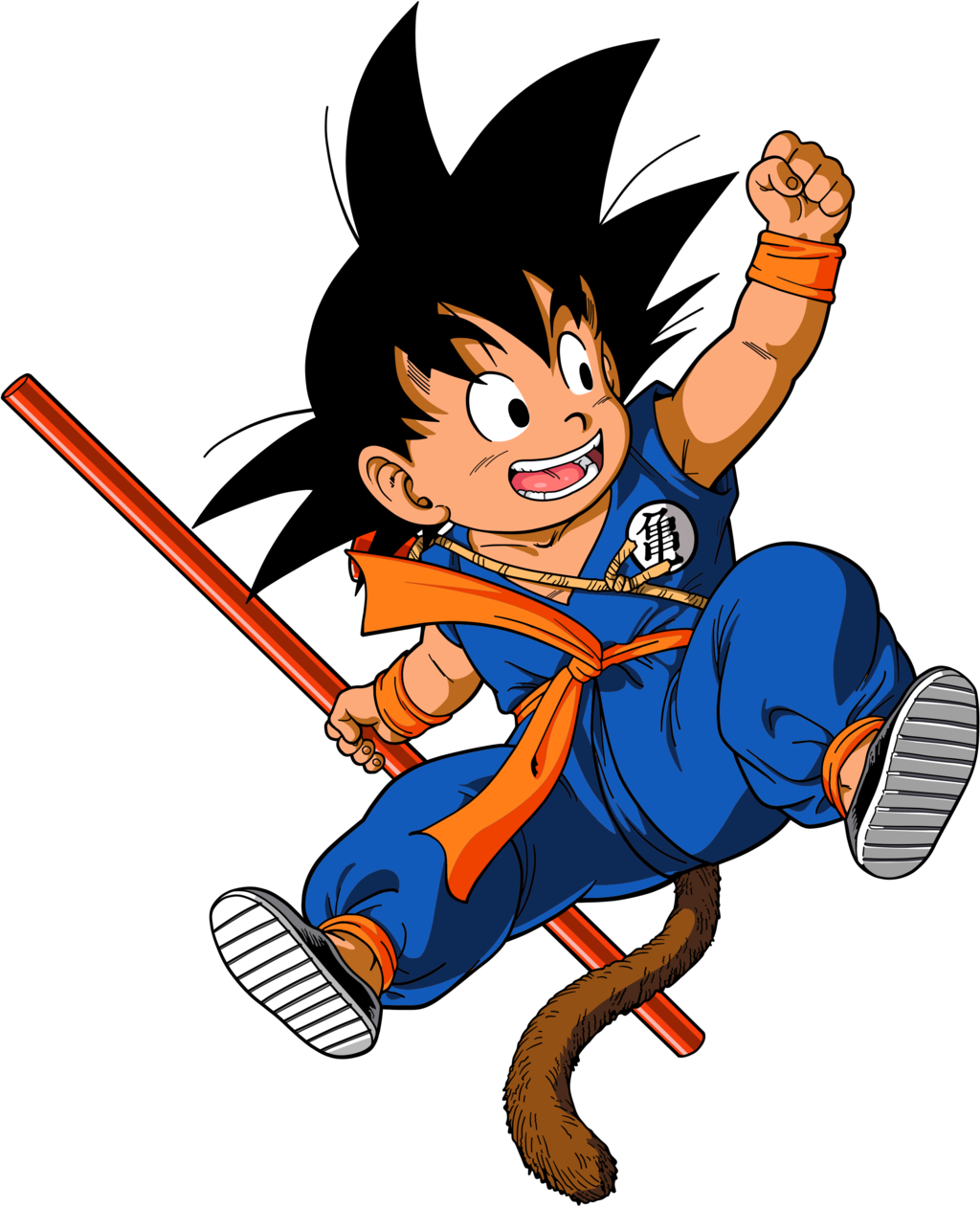 Super vector. Goku alternate gi by