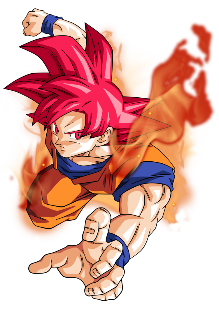 Goku god hair png. Super saiyan by bardocksonic