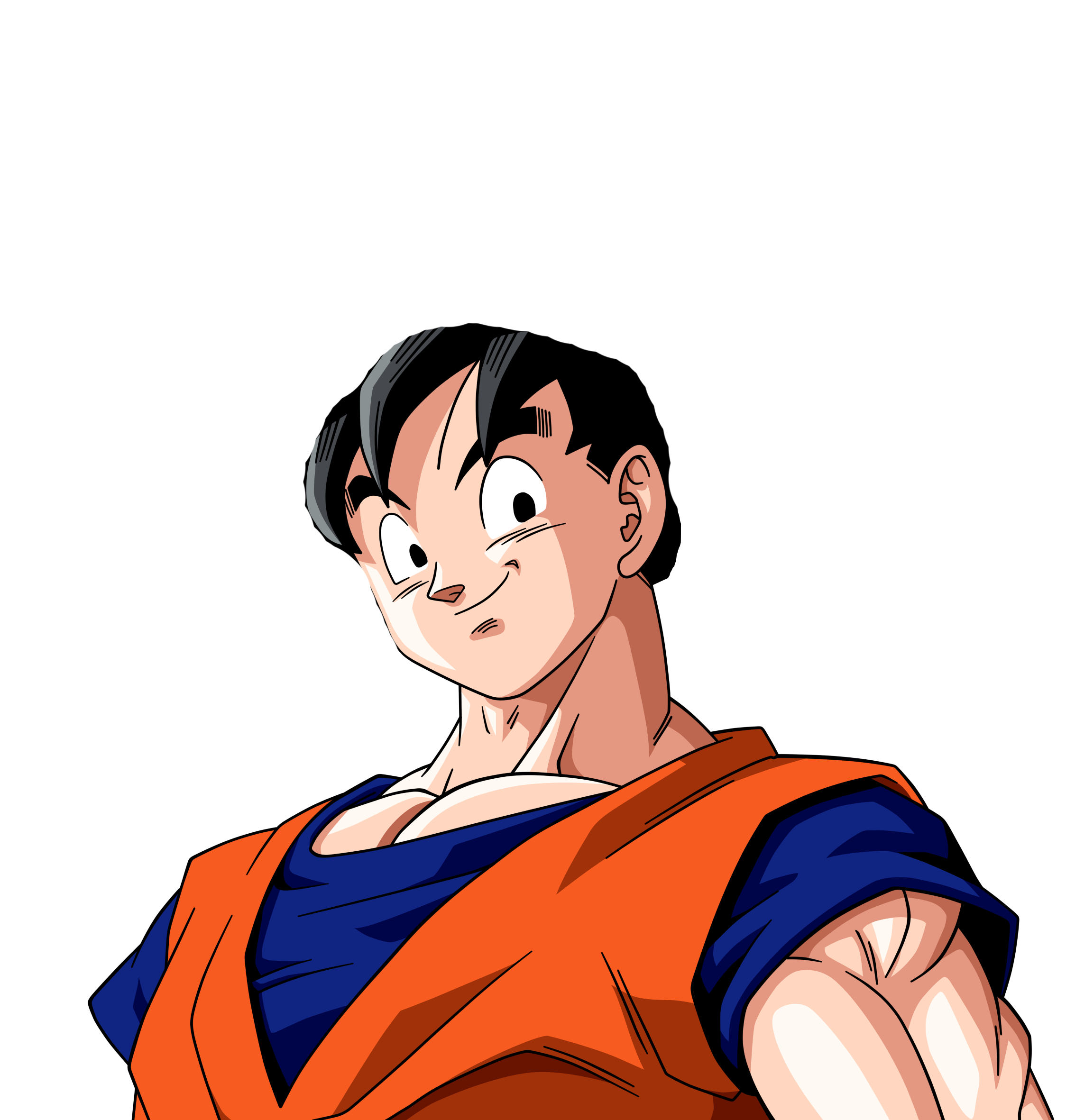 Goku hair png. What would look like