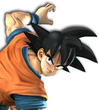 Goku head png. Image playstation all stars