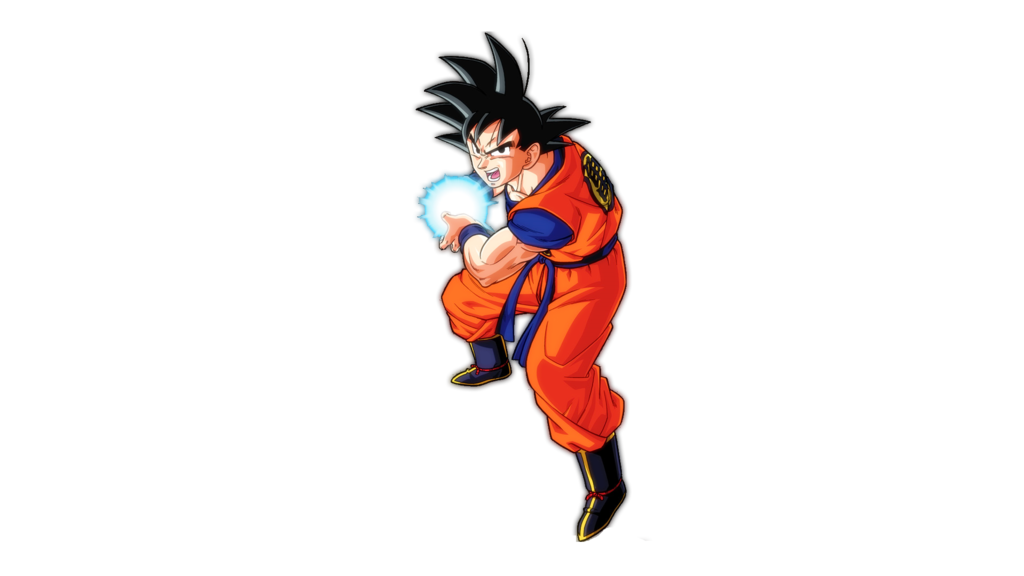Kamehameha transparent goku. Render by hazeelart on