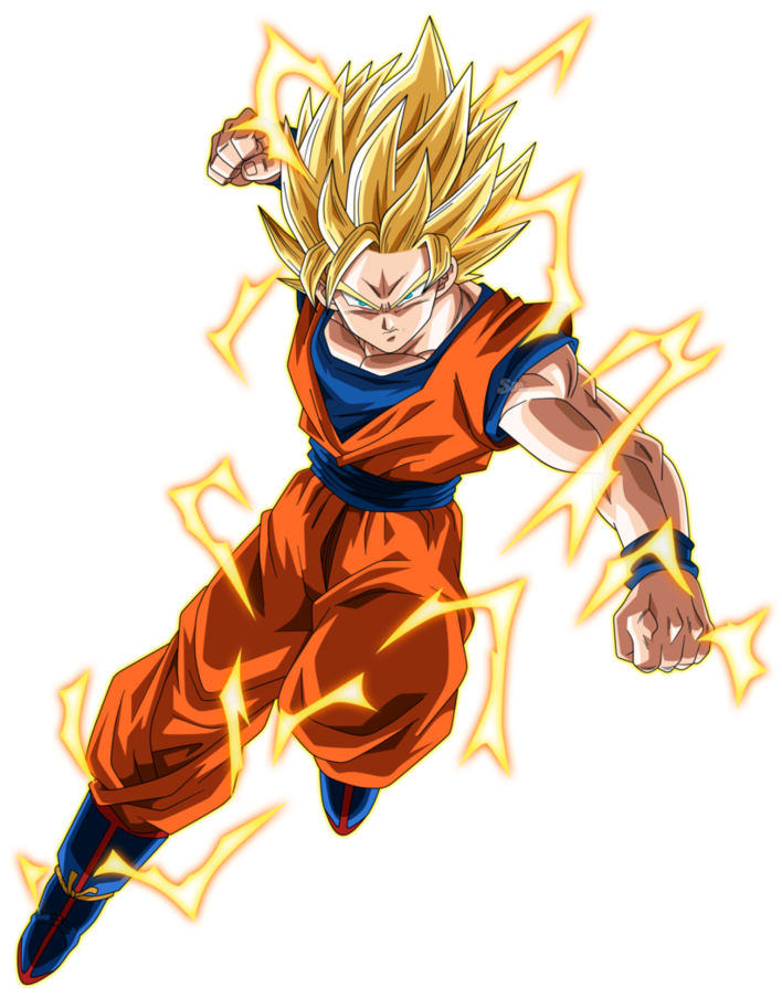 Goku ssj 2 png. Image son vs battles