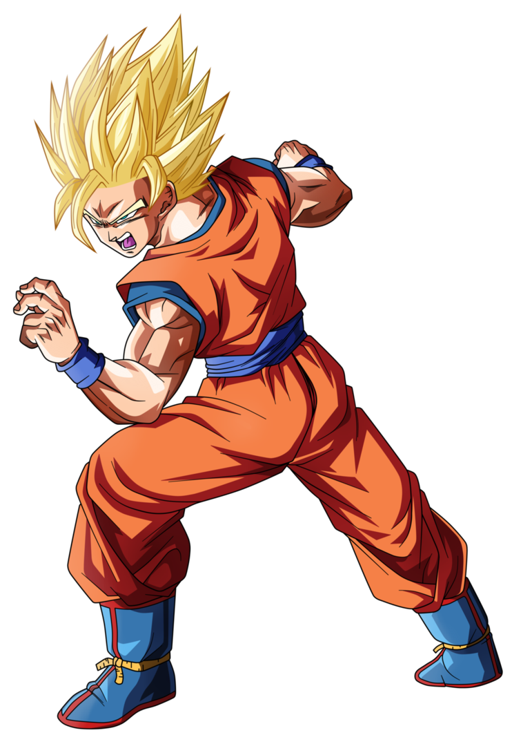 Goku ssj 2 png. By koku dragon ball