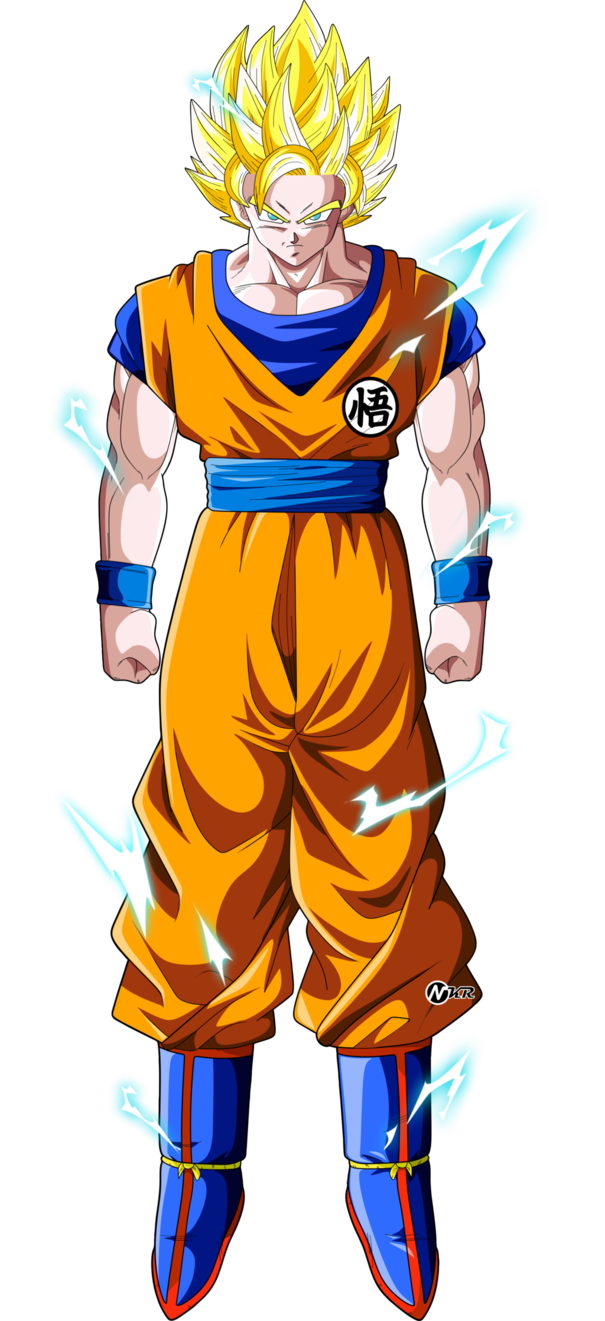 Goku ssj 2 png. By naironkr on deviantart