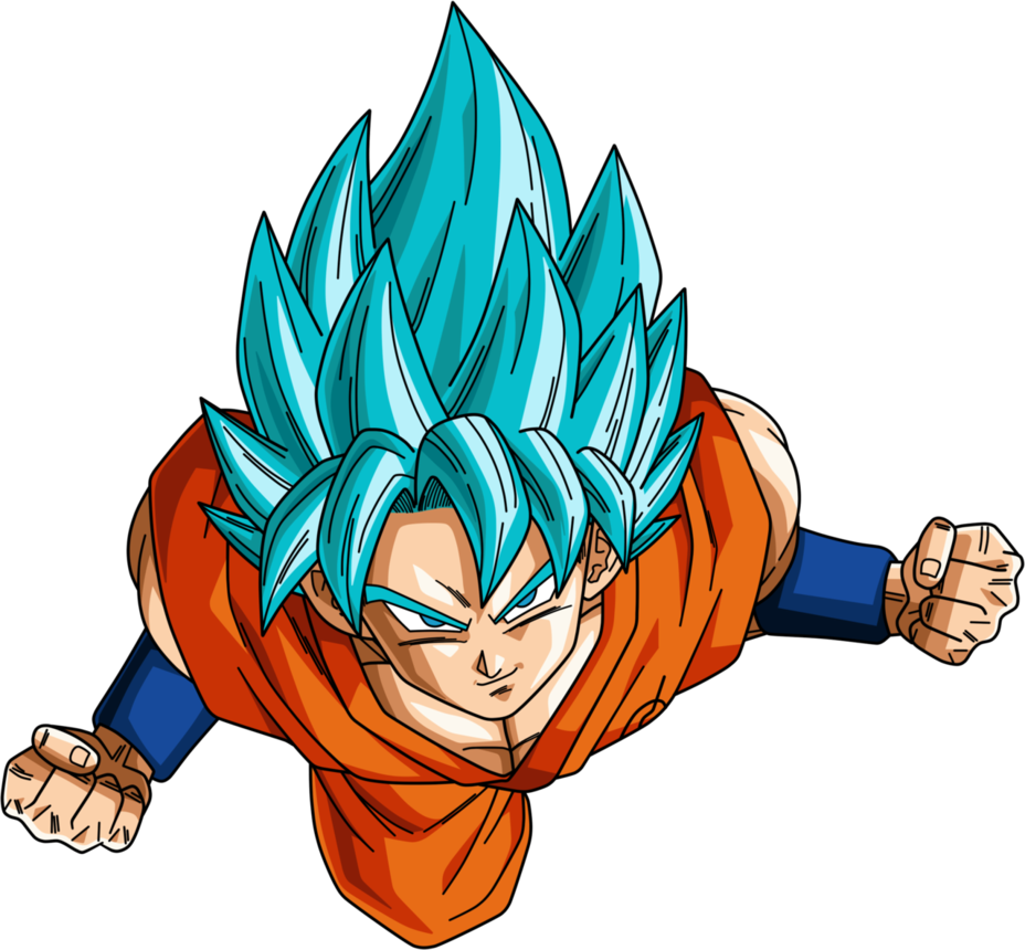 Goku ssj god blue png. Son super saiyan by