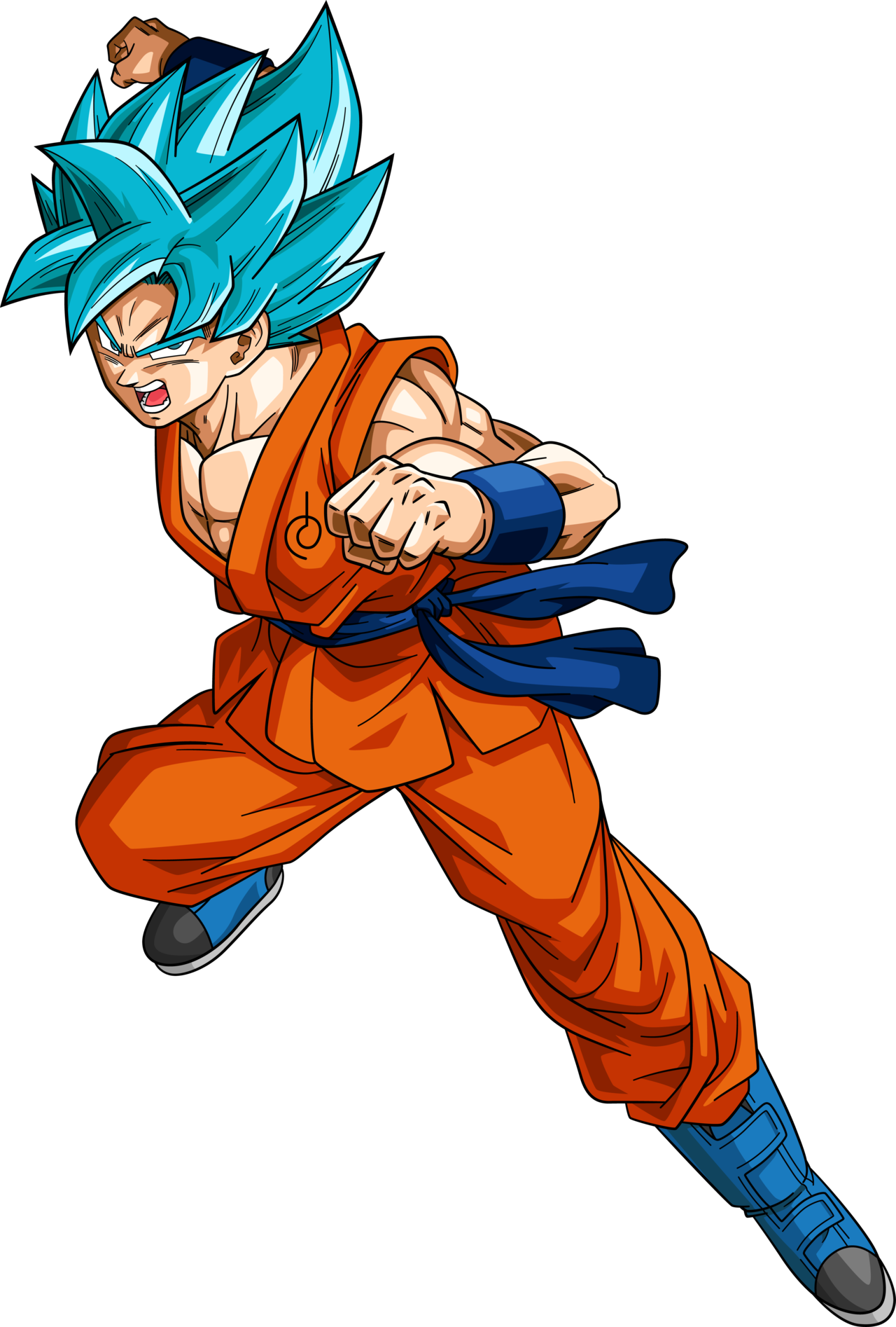 Goku ssj god blue png. Image character stats and