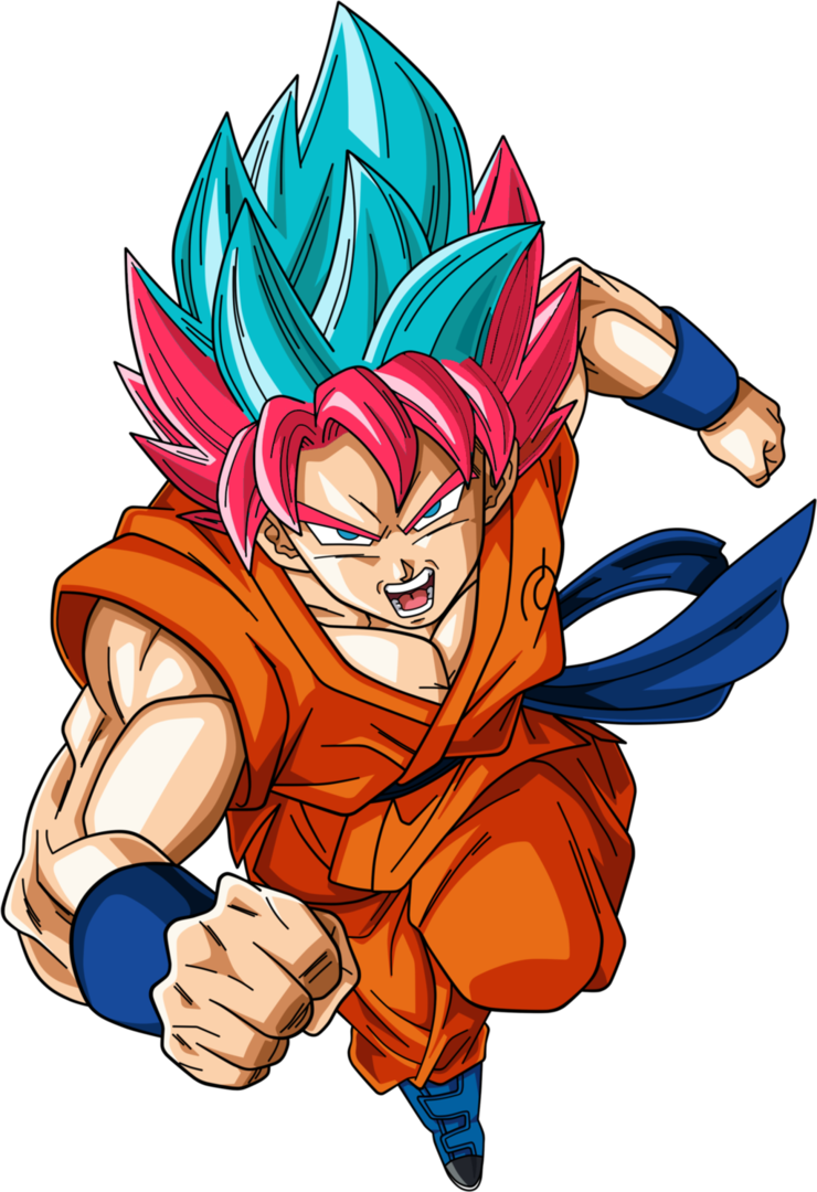 Goku ssj god blue png. Super saiyan by hunknell