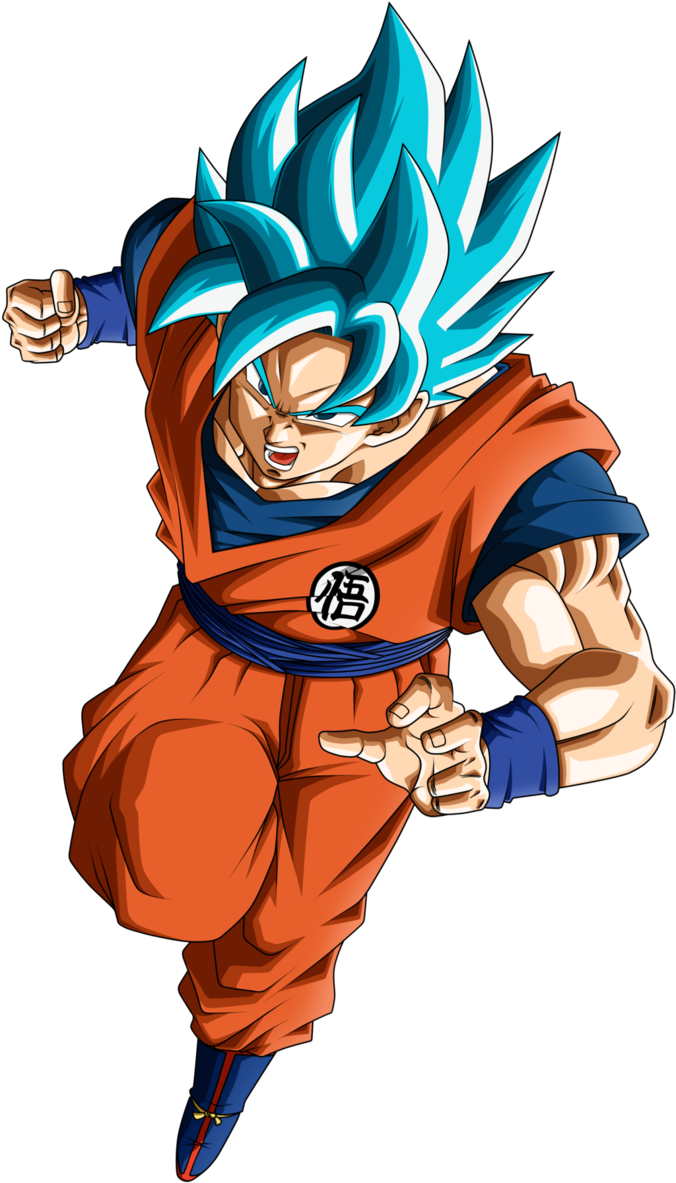 Goku ssj god blue png. Son super saiyan sin