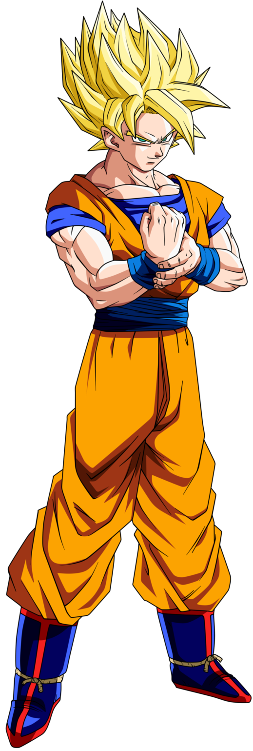 Goku ssj png. Who is quora one