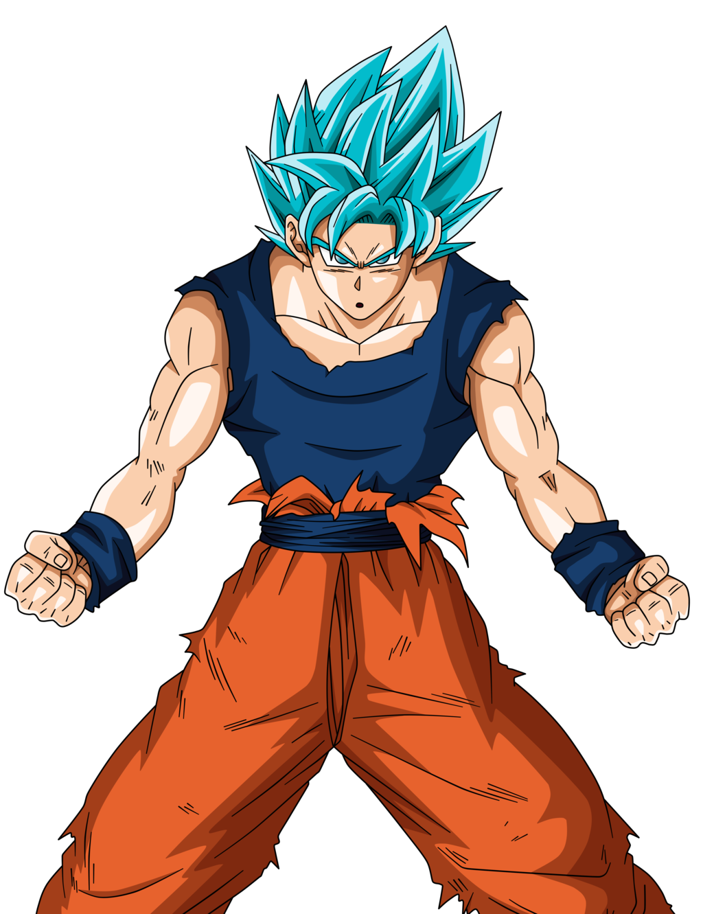 Goku png super saiyan god. Image blue full power