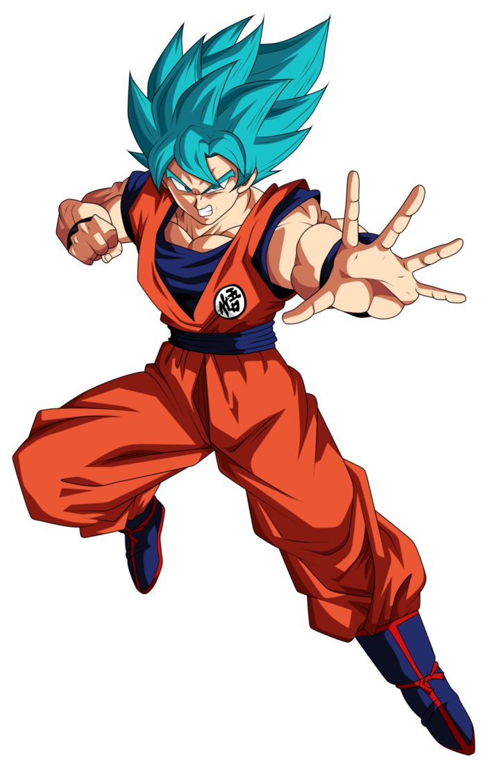 Goku png super saiyan god. Image blue by frost