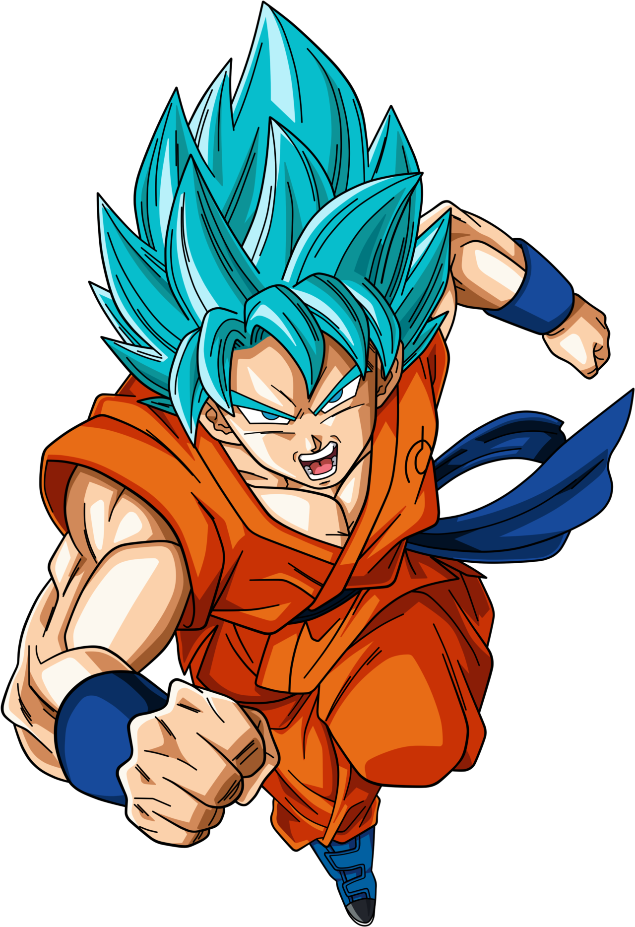 Goku super saiyan god 2 png. Image son by dark