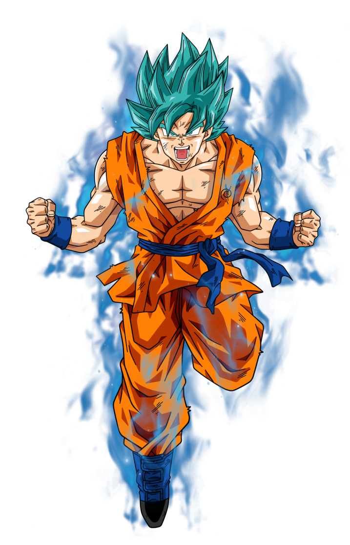 Goku super saiyan god super saiyan png. Image blue by bardocksonic