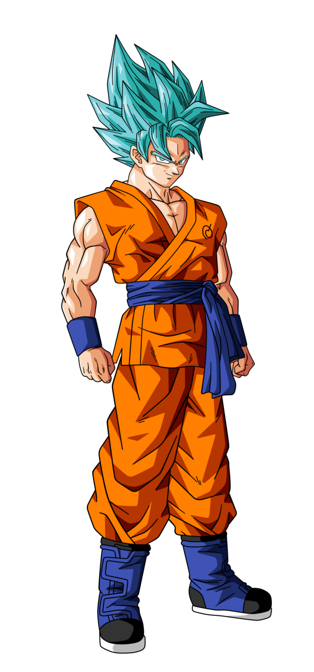 goku super saiyan god 2 png