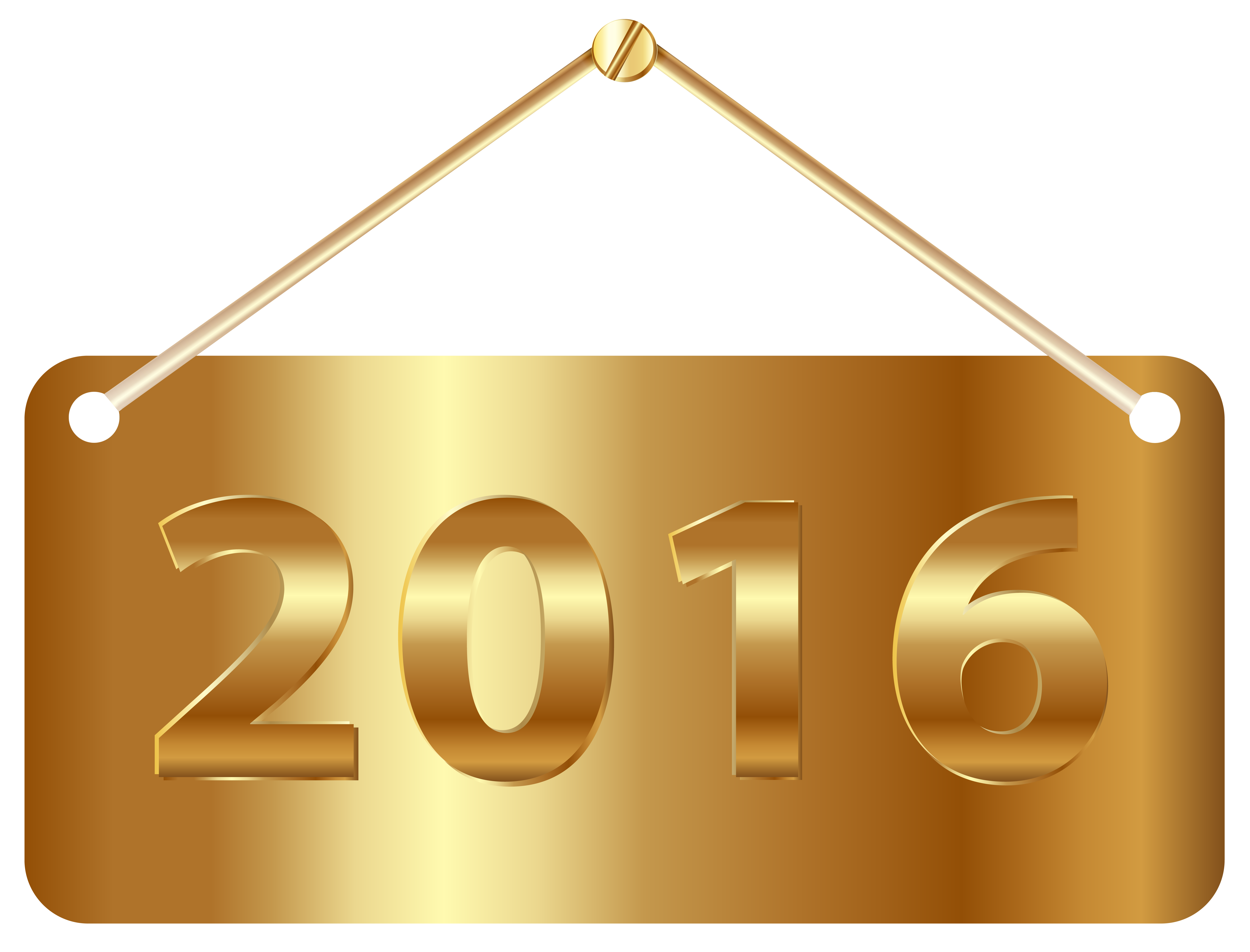 Gold 2016 png. Label clipart image gallery