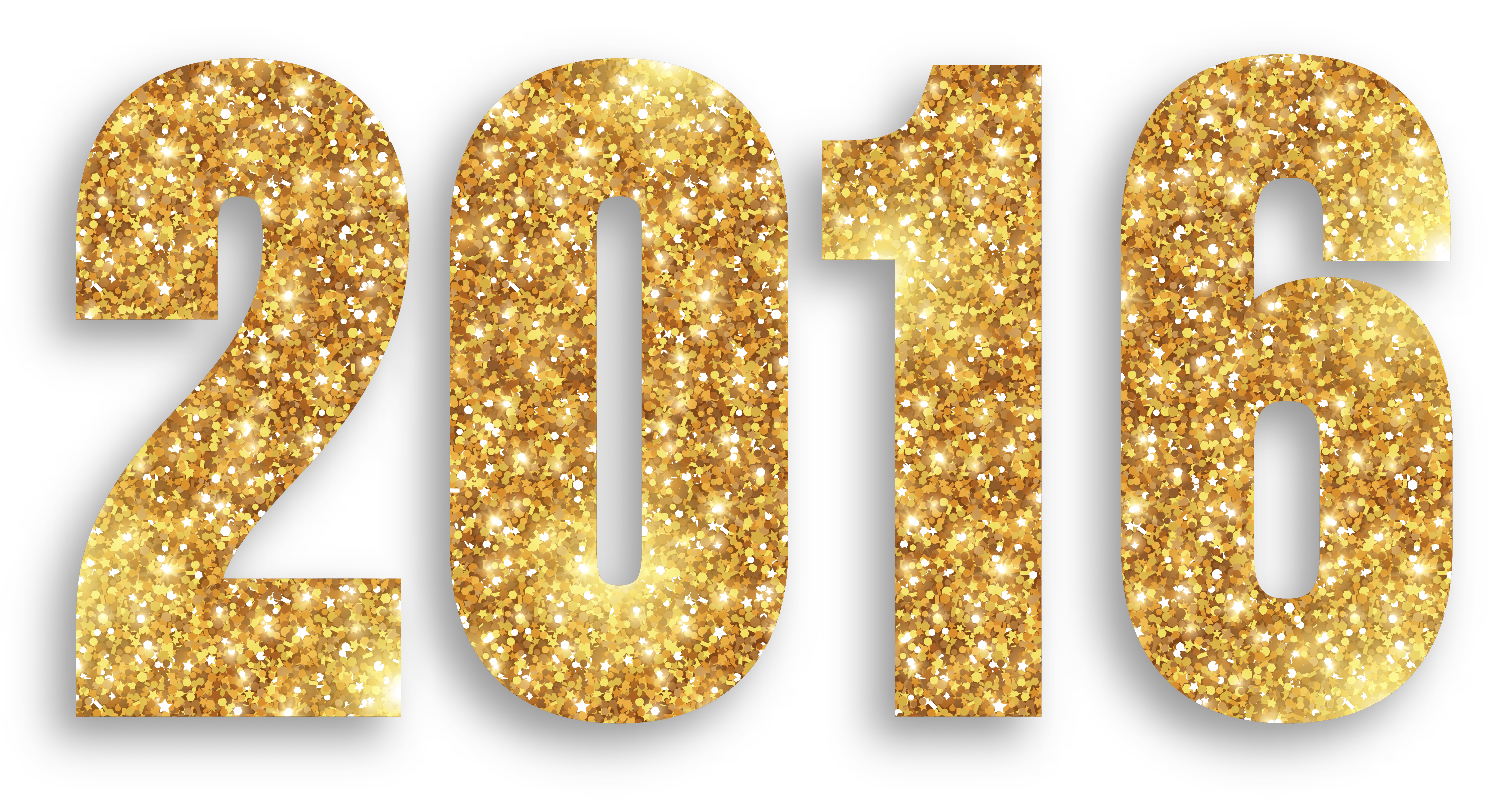 gold large image. 2016 png royalty free library